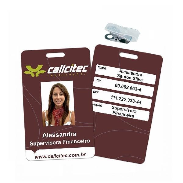 CRACHAS EM PVC - 4X4 FRENTE COLORIDO E VERSO COLORIDO