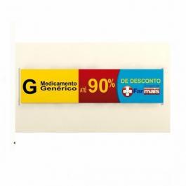 FAIXA COMPLETA COM BASTÃO E CORDINHA POR M² Lona 300 Gramas  4x0  Cordinha e Bastão