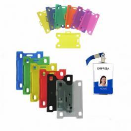 Protetor - Capinha para Crachá Plastico Rígido Diversas Cores Diversas